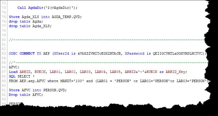 QlikView - skript